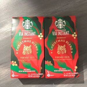 Starbucks Christmas Limited Edition Instant Coffee